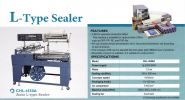 Automatic L-sealer L-sealing machine & shrink tunnel Packaging Equipment