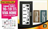 16th-18th March 2018 Exhabition At Viva Home. Booth No: B08 & B09 (IFurnitur)