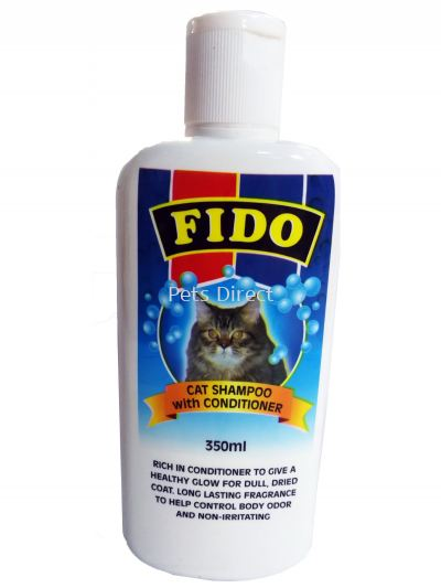 Fido Cat Shampoo with Conditioner (350ml)