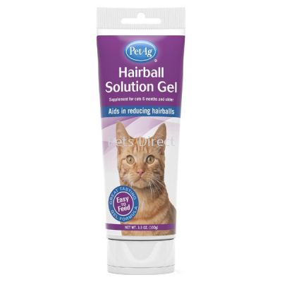 PetAg Hairball Solution Gel (100g)