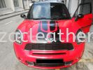 Mini Cooper S Door Panel Spray Red Car Door Panel Leather