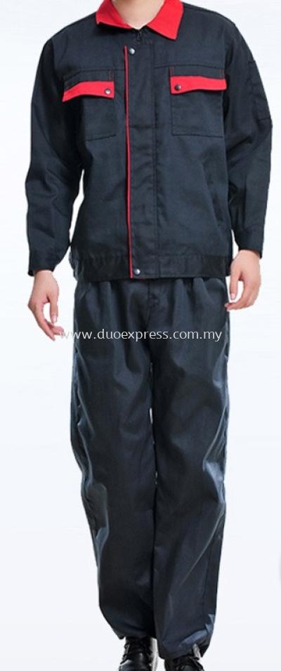 Factory & Manufacturing Work Uniform