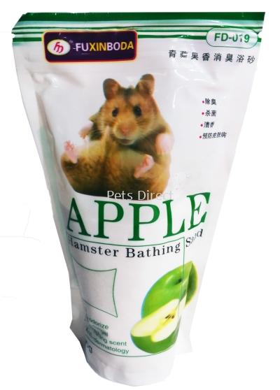 Fuxinboda Hamster Bathing Sand (Apple) - 500g