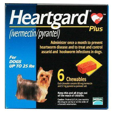 Heartgard Plus S (Up to 25 lbs)