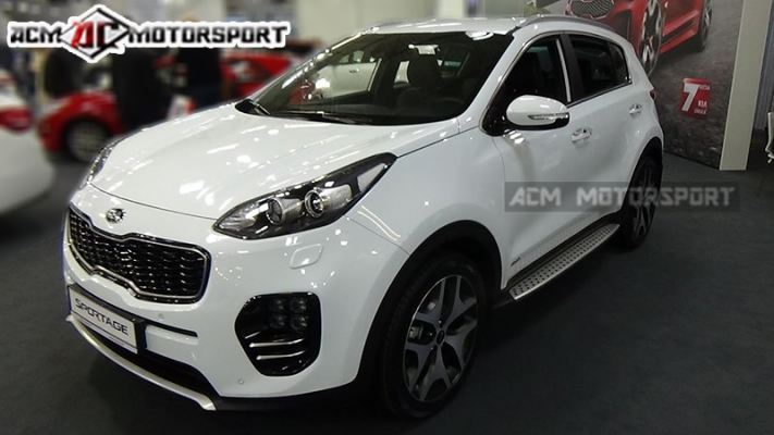 Kia kx5 running board