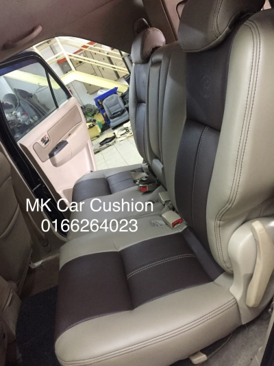 TOYOTA HILUX SUPER LEATHER SEAT COVER, 3 YEARS WARRANTY