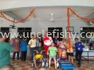 A community care charity project at Persatuan Kebajikan Orang-Orang Istimewa Kempas by V Power Generation,  Fanpekka Aeon Tebrau & Uncle Fishy Entertainment  Hospital & Community Care