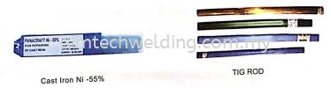 Cast Iron Electrodes & TIG Rod WELDING CONSUMABLES