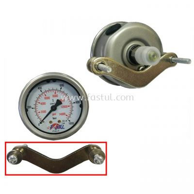 PRESSURE GAUGE MOUTING BACK