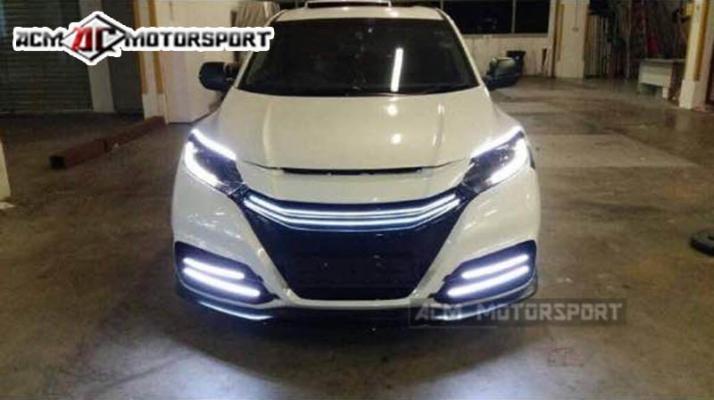 Honda HRV balsarini v2 front bumper