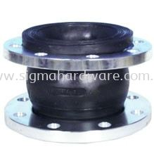 Single Bellow Rubber Flexible Joint Flange Type