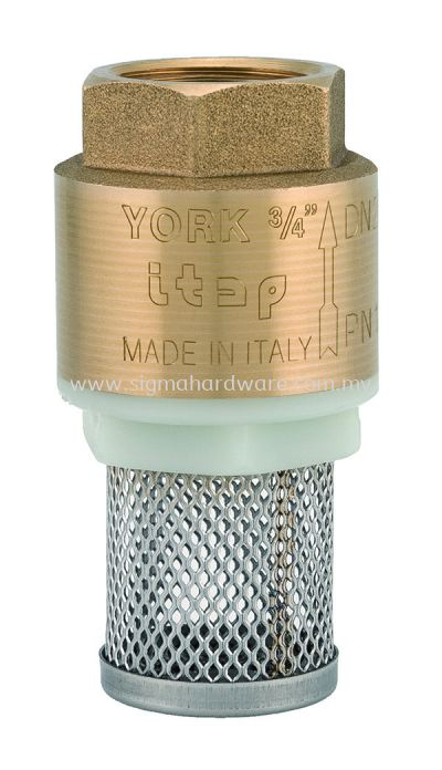 Brass Spring Foot Valve