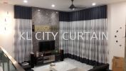 Double Layer Curtain Curtain