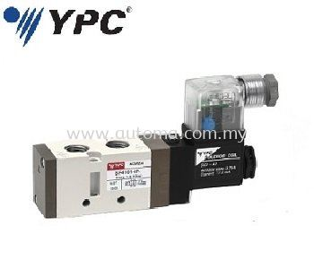 "PNEUMATIC VALVE 5/2-WAY 1/4"" SINGLE COIL #SF4101-IP"