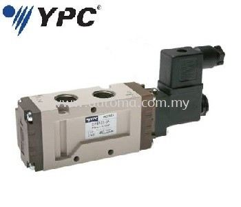 "PNEUMATIC VALVE 5/2-WAY 1/2"" SINGLE COIL #SF6101-IP"