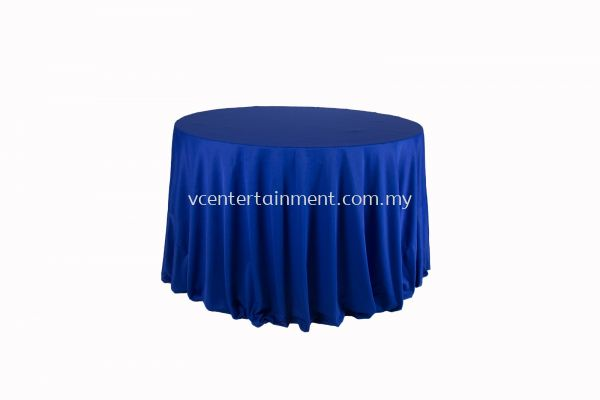 Round Table Cloth - Royal Blue