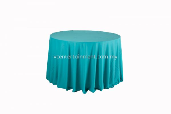 Round Table Cloth - Turquoise