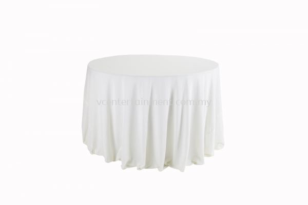Round Table Cloth - Cream