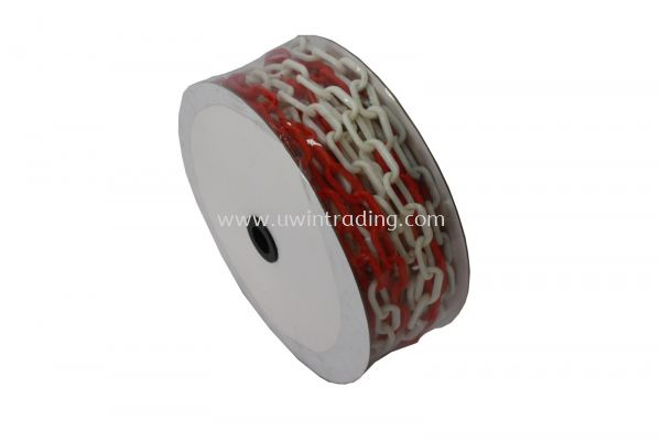 Plastic Chain (Red & White)