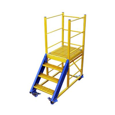 Fibre Glass Heavy Duty Maintenance Trolley Ladders
