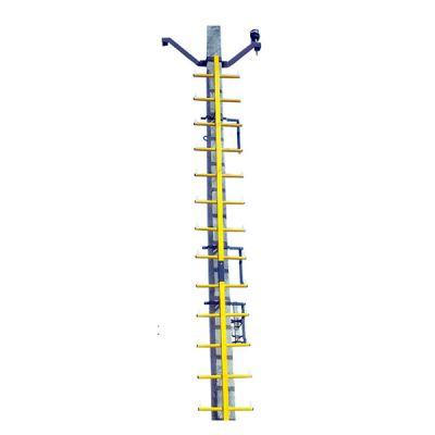 Fibre Glass Pole Mount Skelaton Ladder