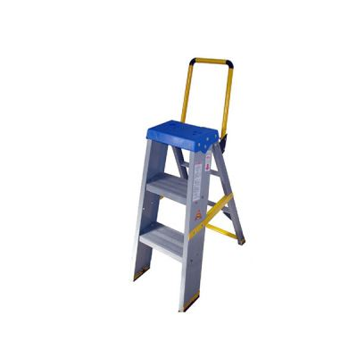 Fibre Glass Heavy Duty Self Support Pull Stool