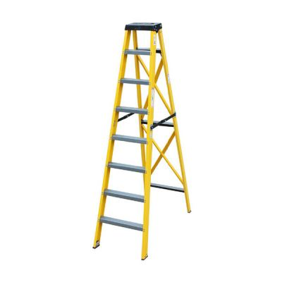 Fibre Glass Single Step Ladder