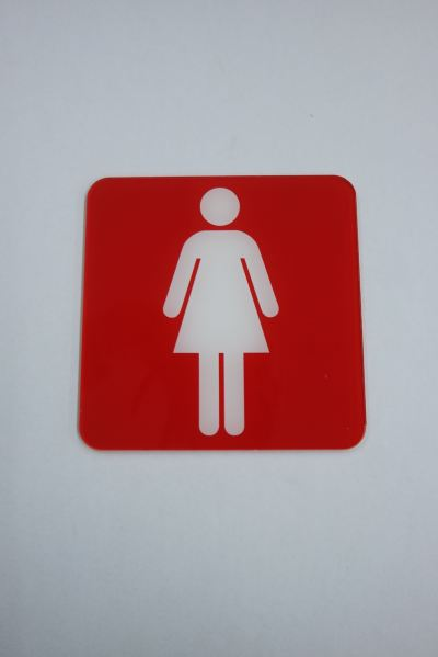 56201 S241A_A.SIGNBOARD-Female(Red)