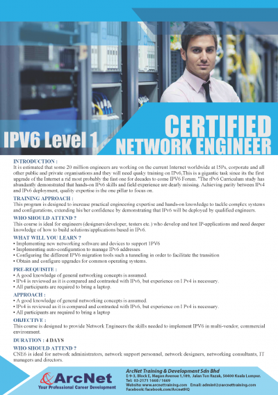 IPV6 Certified Network Engineer Level 1-1