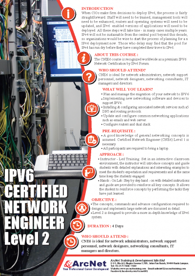 IPV6 Certified Network Engineer Level 2-1