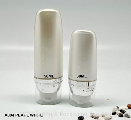 A004 PEARL WHITE AIRLESS BOTTLE