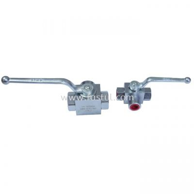 3 WAY HYDRAULIC BALL VALVE ITALY
