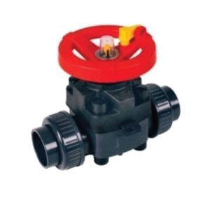 PP Two Way Ball Valve