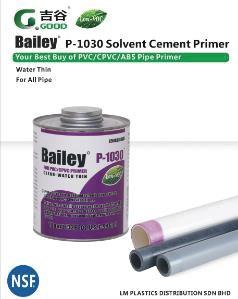Bailey P-1030 Solvent Cement Primer