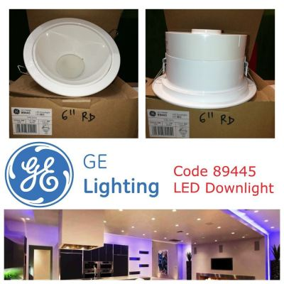 "GE 89445 12W LED 6"" DOWNLIGHT DAYLIGHT"