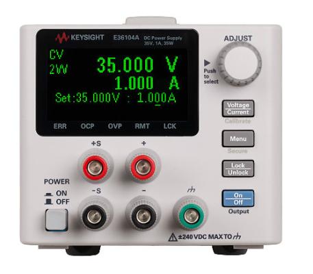 DC power supply, 35V, 1A, 35W, E36104A