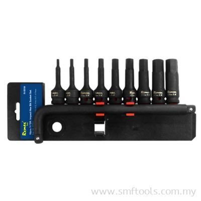 10PCS Impact Hex Bit Socket Set