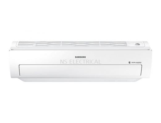 Samsung Inverter Triangle Wall-Mount Air Conditioner with 8-Pole Inverter, 1.5 HP - (AR12MVFSBWKNME)
