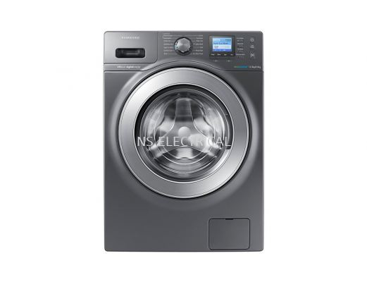 Samsung Washer Dryer with Eco Bubble, 12kg wash & 8kg dry (WD12F9C9U4X)