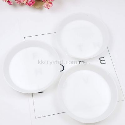 Plastik Mini Sorting Tray, Round, 6cm, 5pcs/pkt