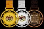 IRM021 METAL HANGING MEDAL Metal Medals Medals Trophy, Medal & Plaque
