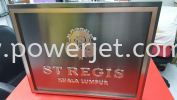 Stainless Steel Light Box  SIGNBOARD