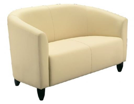 Couch Two Seater with Armrest