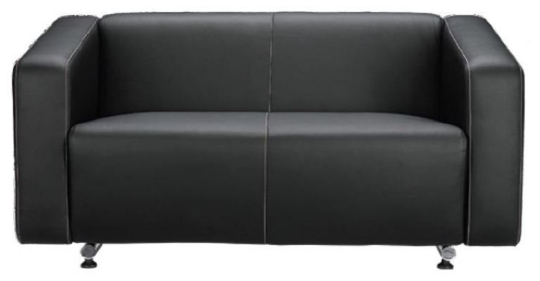 Alpha AP033-2 Two Seater Sofa with Arm