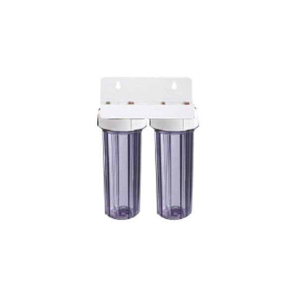 10 Inch Double Housing Indoor Water Filter System Water Filtration System Johor Bahru JB Malaysia Supply, Supplier & Wholesaler | Ideallex Sdn Bhd