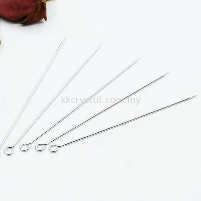 Shawl Pin, 09*50mm, Plated, 950018, 90pcs/pkt