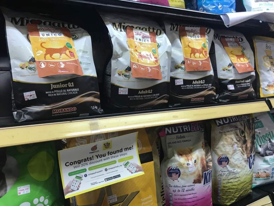 Morando miogatto cat dry food landed in Bandar Sri Damansara