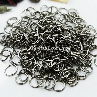 Jump Ring, 0.7x6mm, Plated, 250pcs
