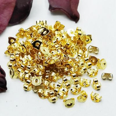 Earnut, Gold Plating, 010035