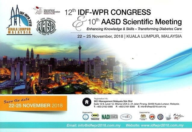 12th IDF-WPR CONGRESS & 10th AASD SCIENTIFIC MEETING September 2018 Year 2018 Past Listing